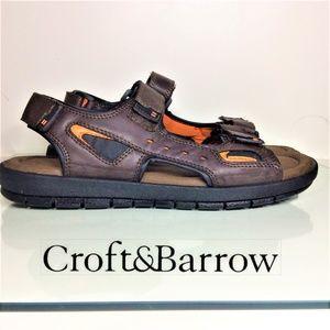 Croft & Barrow® Men's Ortholite Sandals Size 12